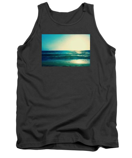 Turquoise Waves Tank Top