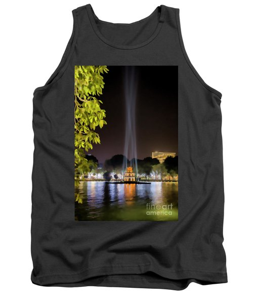 Turtle Tower Paint  Tank Top