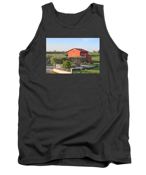 Tuscan Home Tank Top by Allan Levin