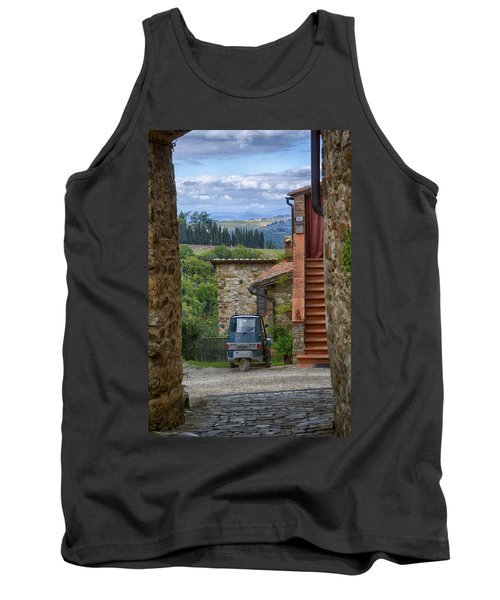 Tuscany Scooter Tank Top