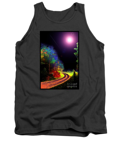 Tank Top featuring the photograph Twelve Dimensions Of Harmonic Delight by Susanne Still