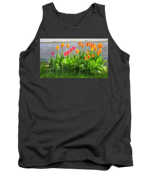 Twenty-five Tulips Tank Top