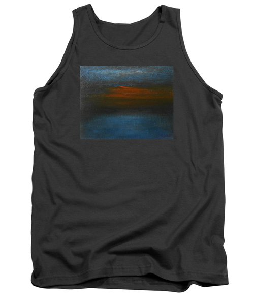 Tank Top featuring the painting Twilight by Jane See