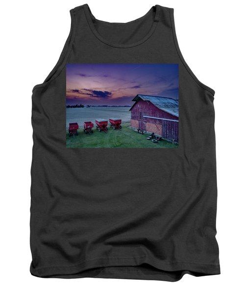 Twilight On The Farm Tank Top