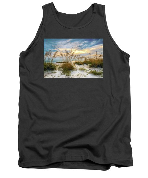 Twilight Sea Oats Tank Top
