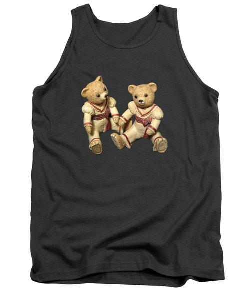 Tank Top featuring the photograph Twin Hagara Bears by Linda Phelps