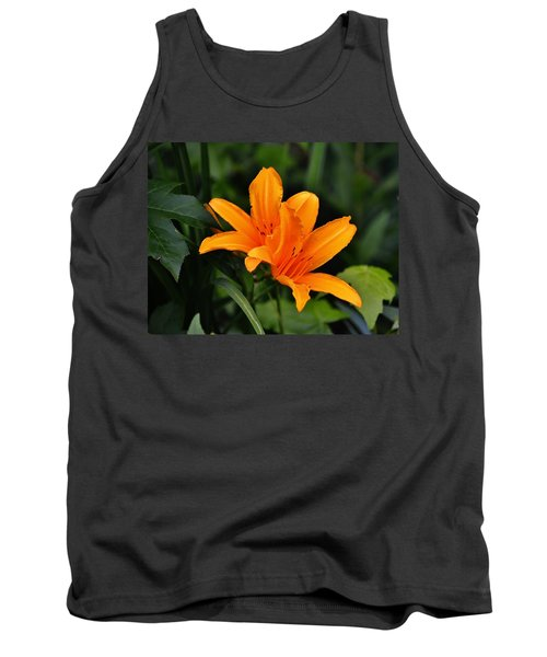 Twin Lillies Tank Top