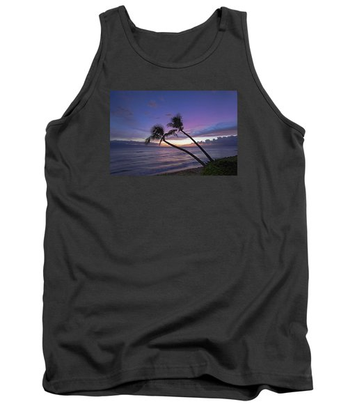Twin Palms  Tank Top by James Roemmling