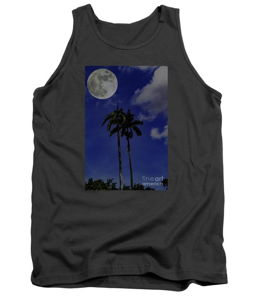 Twin Palms Tank Top by Ken Frischkorn
