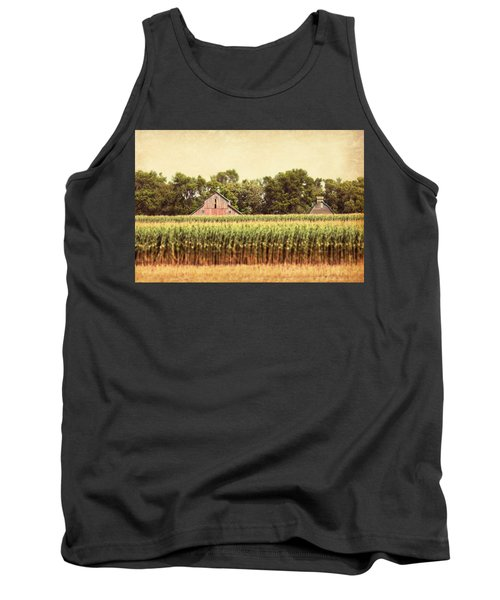Tank Top featuring the photograph Twin Peaks by Julie Hamilton