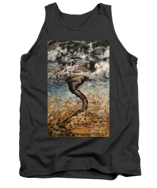 Twister On The Colorado Plains Tank Top