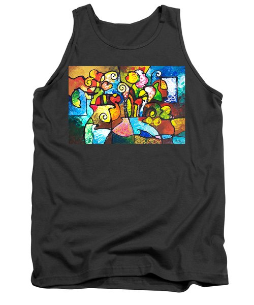 Two Bouquets Tank Top