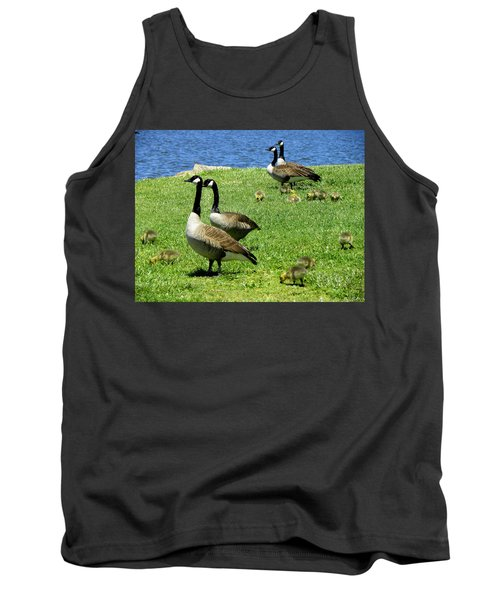 Tank Top featuring the photograph Two By Two  by Sandi OReilly