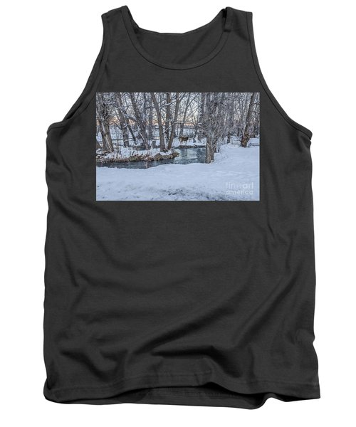 Two Deer At Sunset Tank Top