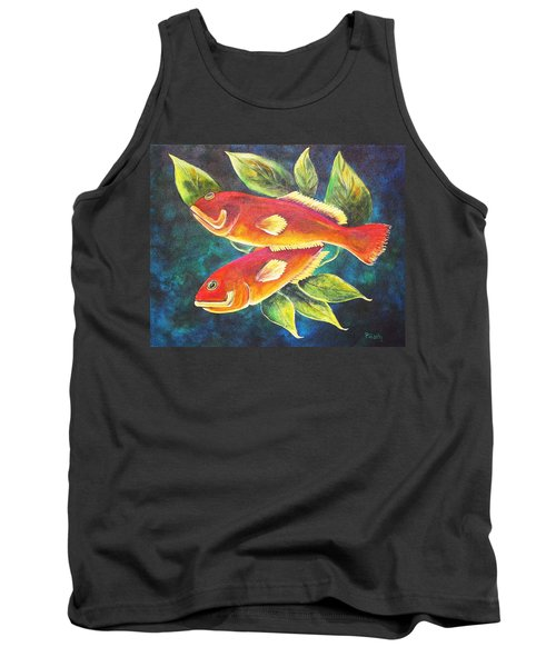Two Fish Tank Top