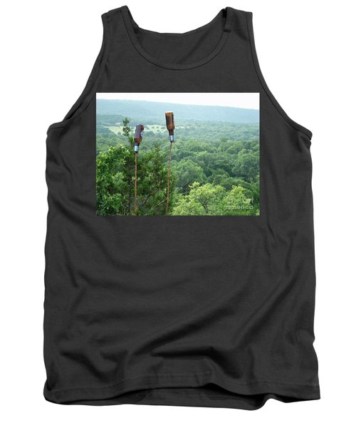 Tank Top featuring the photograph Two For The Road by Joe Jake Pratt