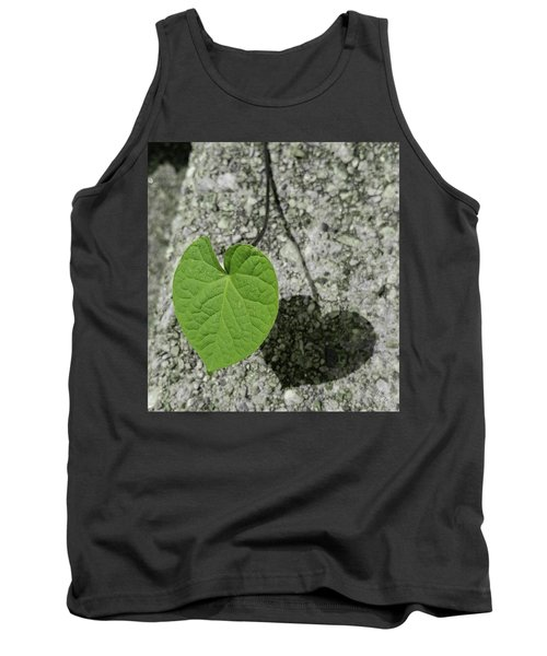 Tank Top featuring the photograph Two Hearts Entwined by Bruce Carpenter