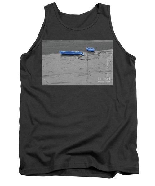 Two Kayaks Tank Top by Sebastian Mathews Szewczyk