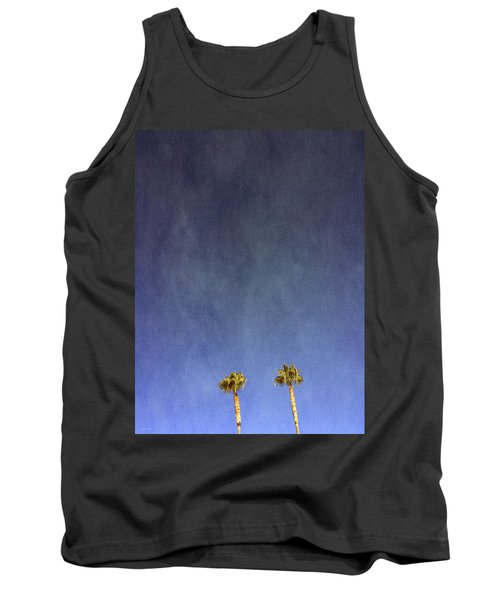 Two Palm Trees- Art By Linda Woods Tank Top