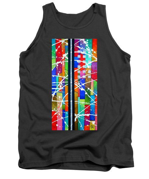 Two Towers Tank Top by Jeremy Aiyadurai