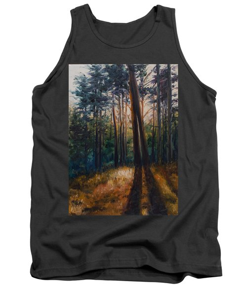 Two Trees Tank Top by Rick Nederlof