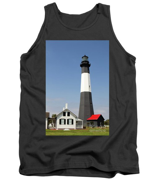 Tybee Lighthouse Georgia Tank Top