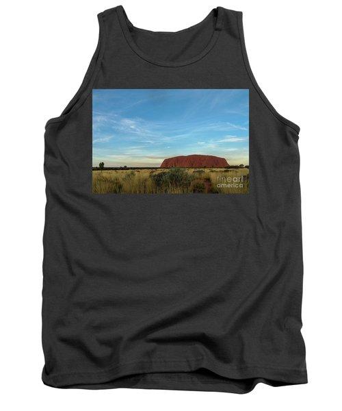 Tank Top featuring the photograph Uluru Sunset 02 by Werner Padarin