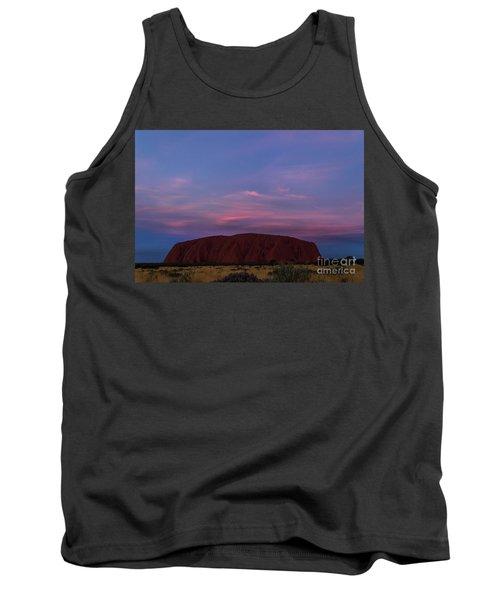Tank Top featuring the photograph Uluru Sunset 04 by Werner Padarin