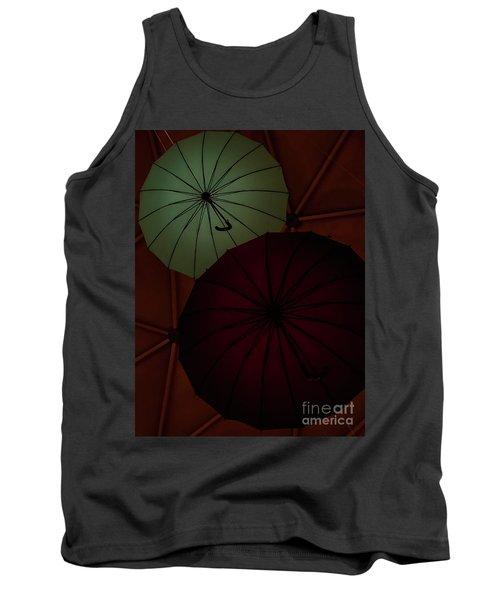 Umbrellas Tank Top