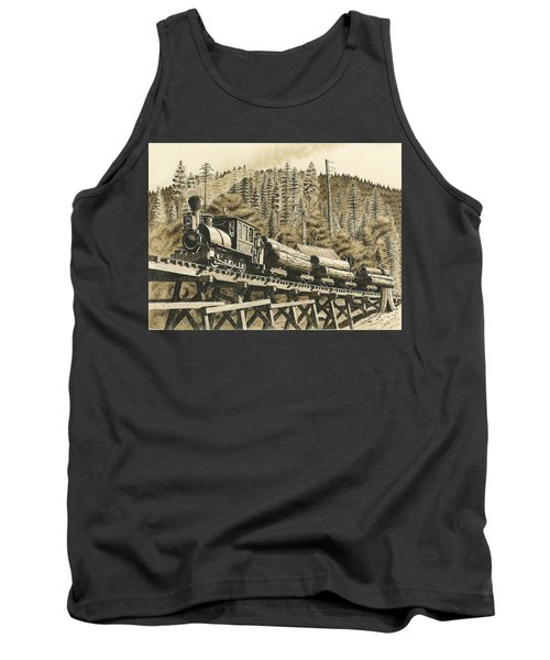 Uncle Sam Sepia Tank Top