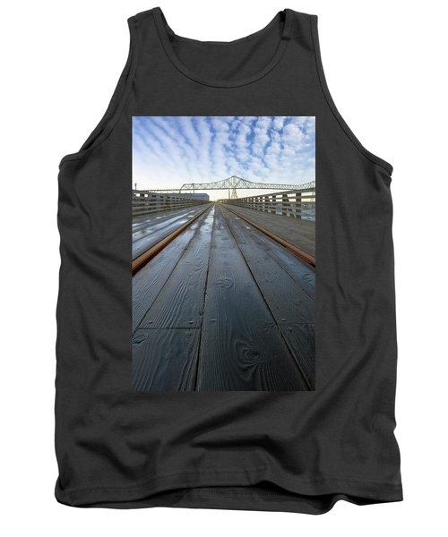 Under Astoria Megler Bridge On Riverwalk Tank Top