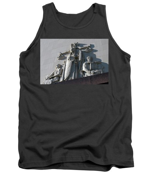 Under Scales Of Justice Tank Top