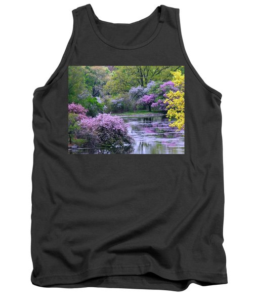 Under Spring's Spell Tank Top by Living Color Photography Lorraine Lynch