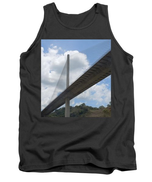 Under The Bridge Through Panama Tank Top