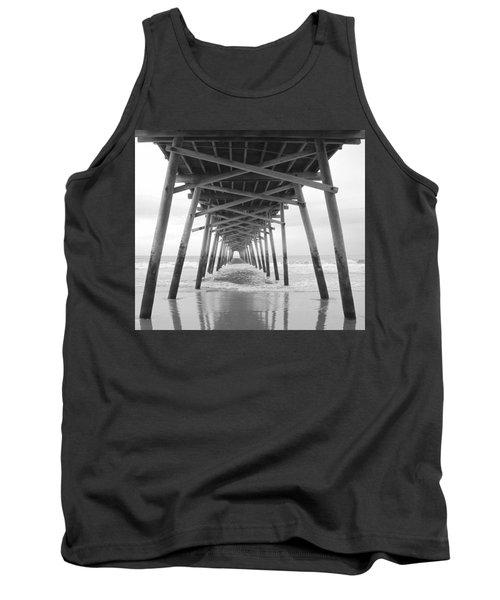 Under The Pier Tank Top by Betty Buller Whitehead
