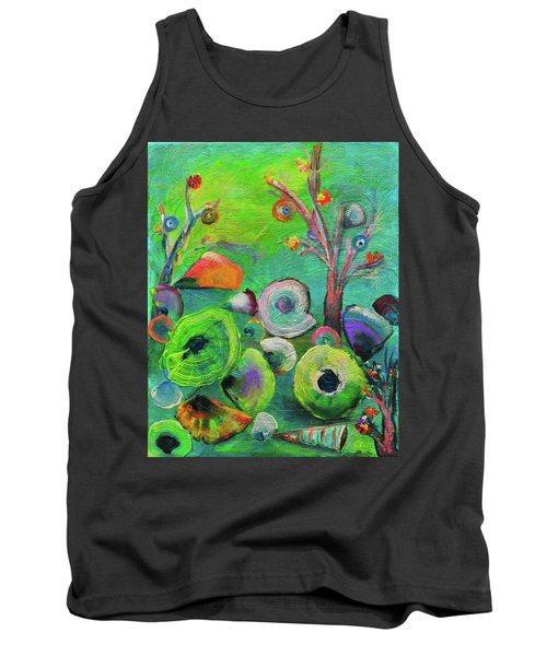 under the sea  - Orig painting for sale Tank Top