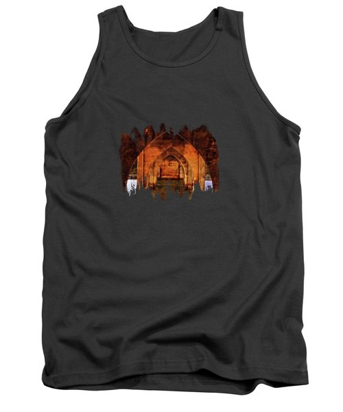 Tank Top featuring the photograph Under The Siuslaw River Bridge by Thom Zehrfeld
