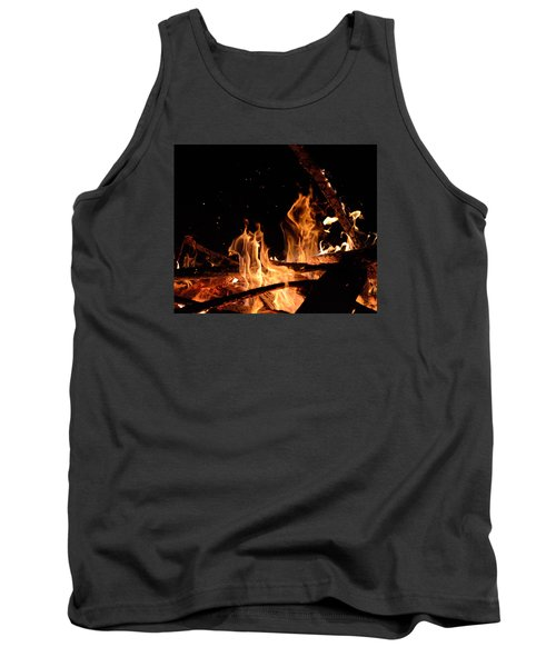 Under The Sparks Tank Top by Janet Rockburn
