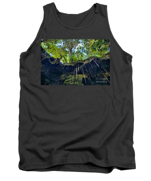 Tank Top featuring the photograph Underground by DJ Florek