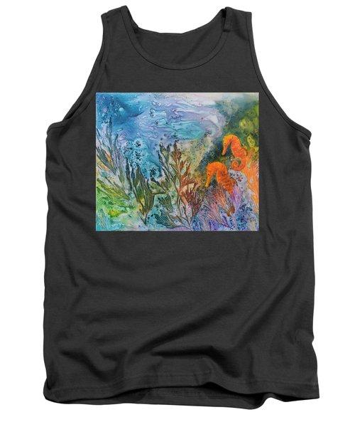 Undersea Garden Tank Top by Nancy Jolley