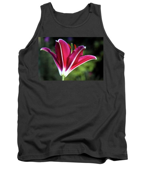 Underside Of Asiatic Tiger Lily 1653 H_2 Tank Top