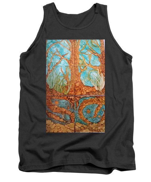 Underwater Trees Tank Top