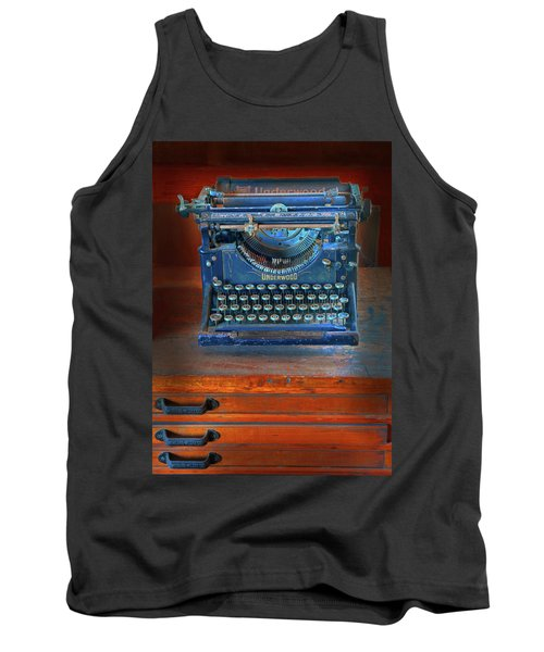 Underwood Typewriter Tank Top