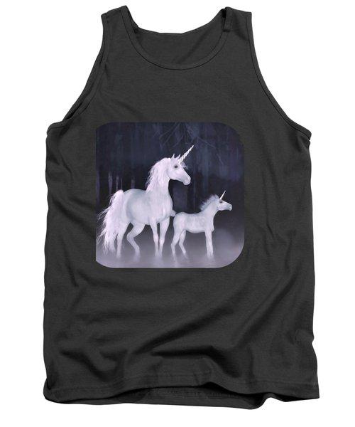 Unicorns In The Mist Tank Top
