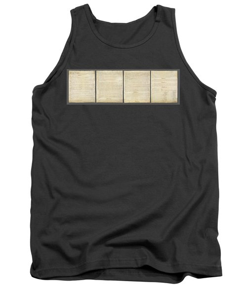 United States Constitution, Usa Tank Top