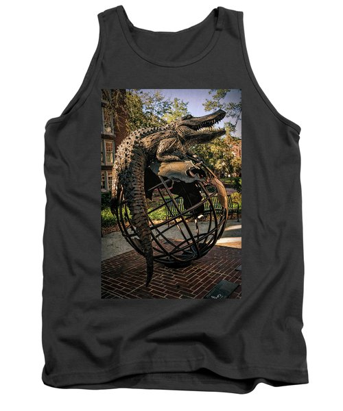 Tank Top featuring the photograph University Of Florida Sculpture by Joan Carroll