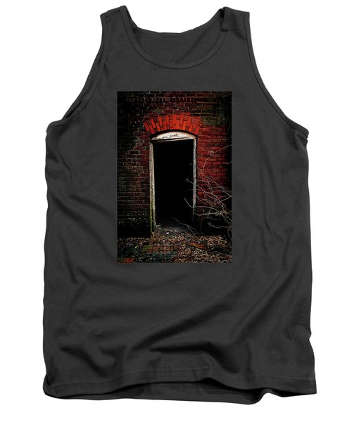Tank Top featuring the photograph Unknowing by Jessica Brawley