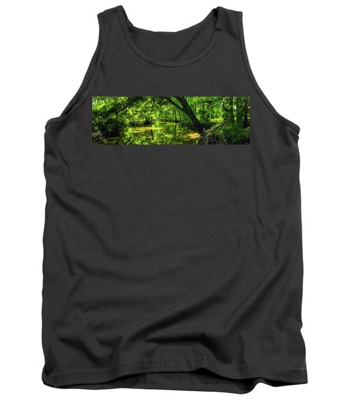 Unseen Critters Of The Lost Bayou Tank Top by Kimo Fernandez