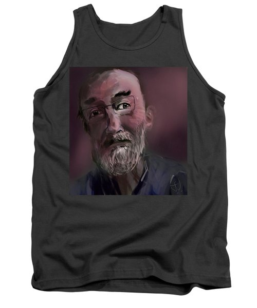 Tank Top featuring the painting Untitled - 26nov2016 by Jim Vance
