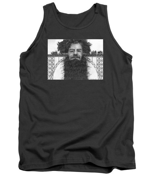 Train Of Thoughts Tank Top by Richie Montgomery